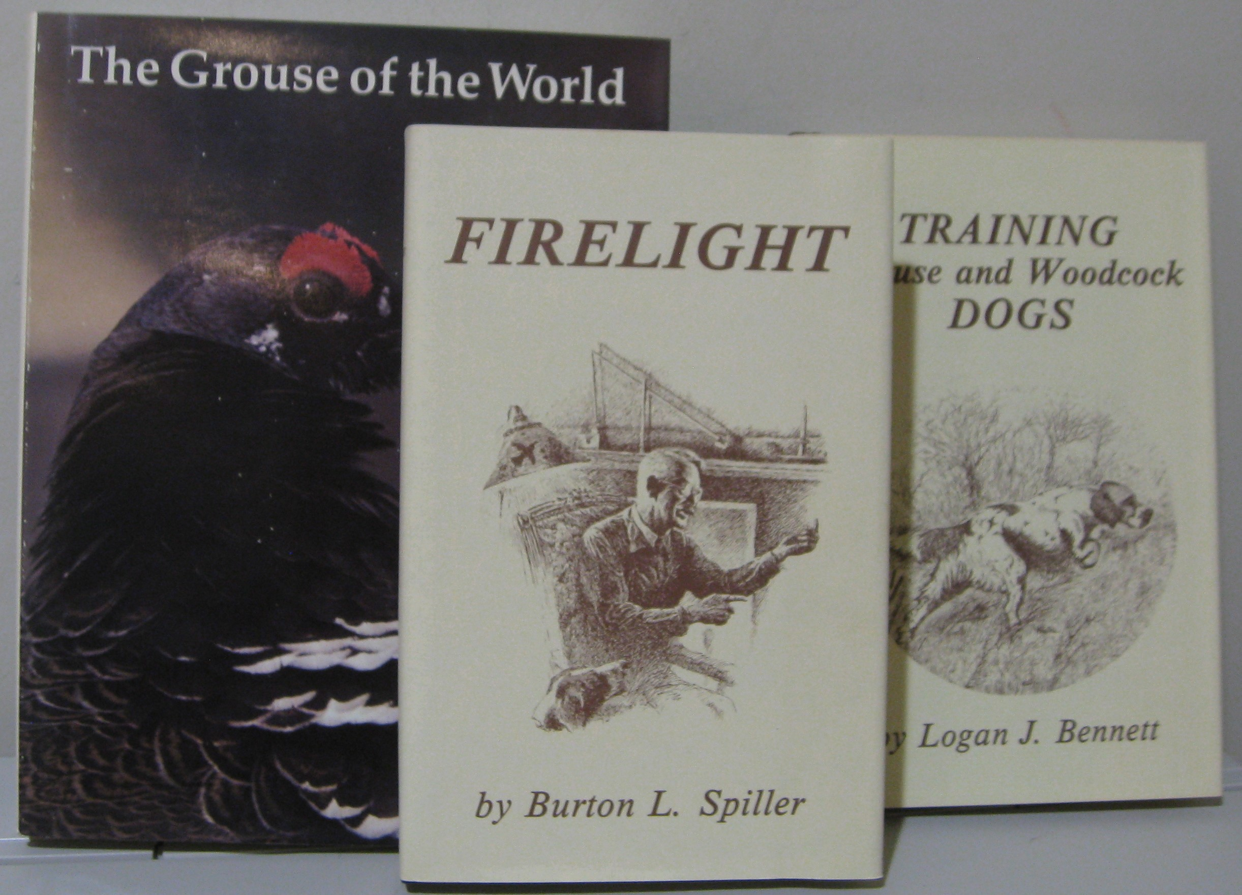 Image for TRAINING GROUSE AND WOODCOCK DOGS; THE GROUSE OF THE WORLD; & FIRELIGHT -