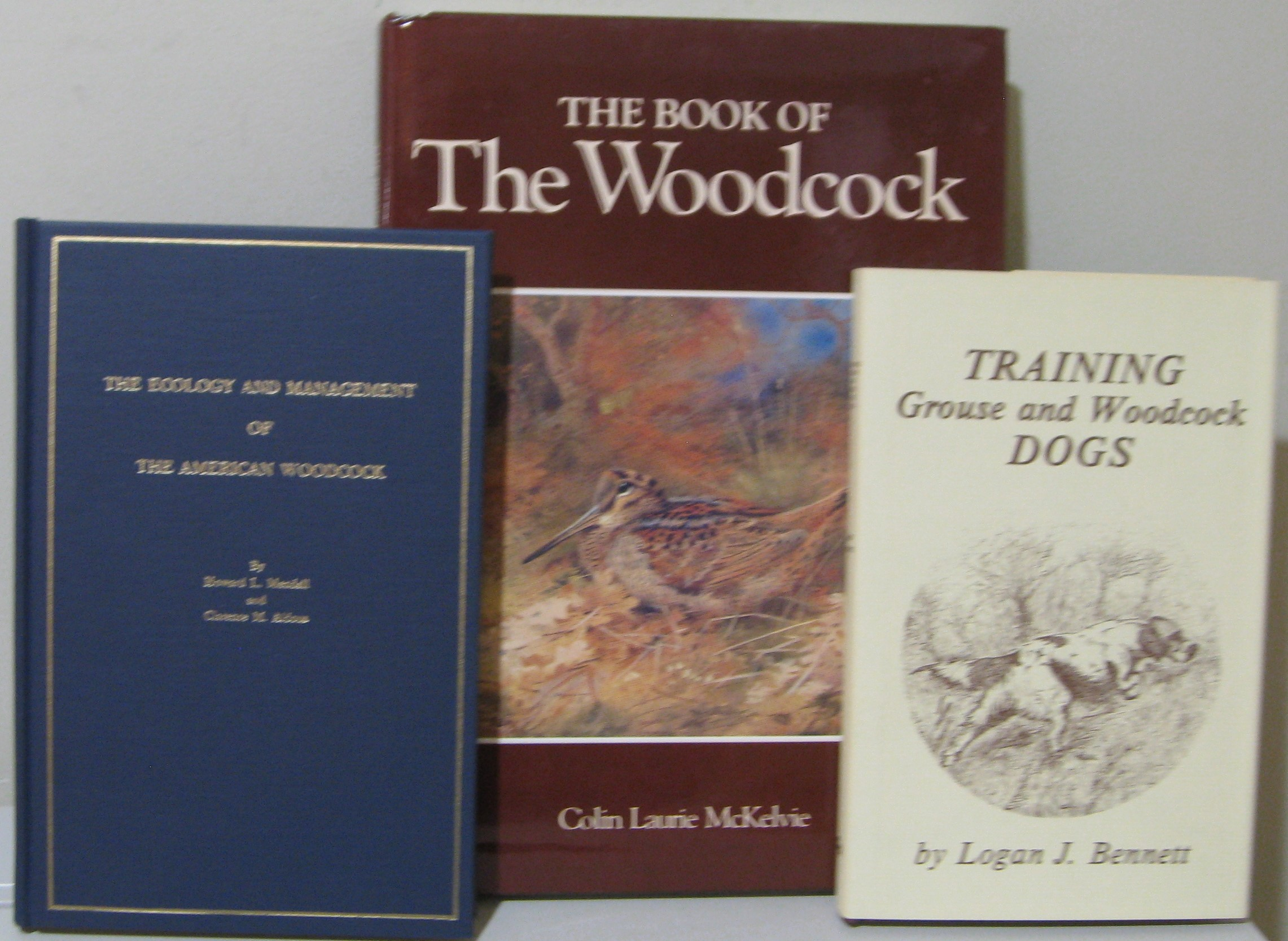 Image for THE ECOLOGY & MANAGEMENT OF THE AMERICAN WOODCOCK; TRAINING GROUSE AND WOODCOCK DOGS; & THE BOOK OF THE WOODCOCK -